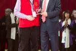 MB170115A2552 - Piste d'Or d'Honneur pour ses 25 ans d'engagement- Vincent Delahaye