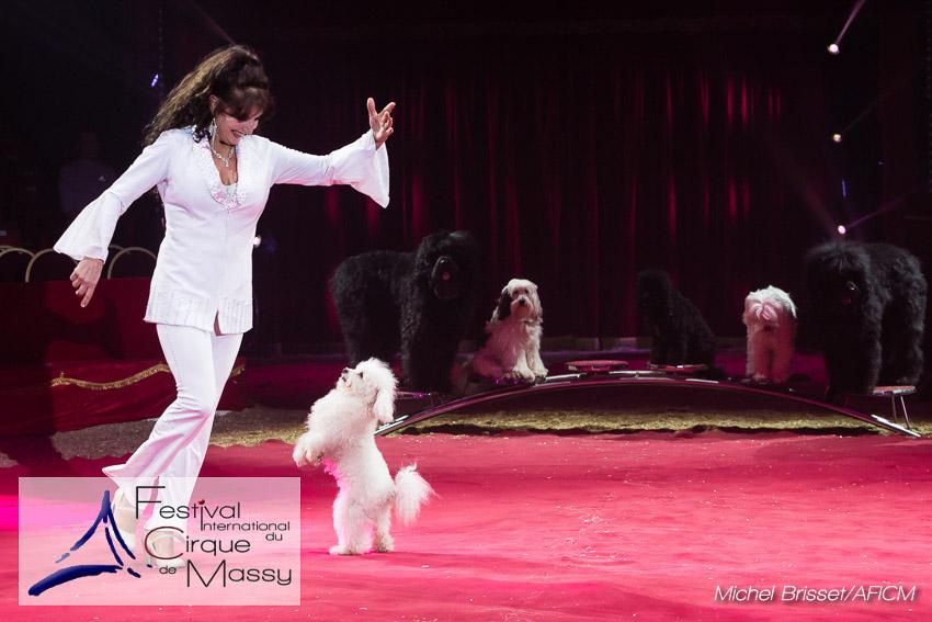 Gina Giovanni – Dressage de chiens – Festival