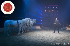 MB190110A2028-Louis KNIE - Carrousel équestre et chevaux en liberté