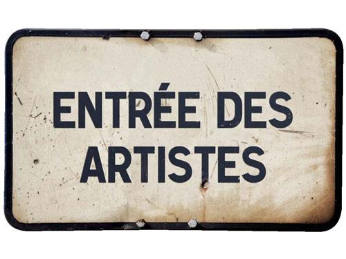 les artistes du Festival